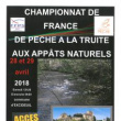 Championnat de France de pêche Excideuil 2018